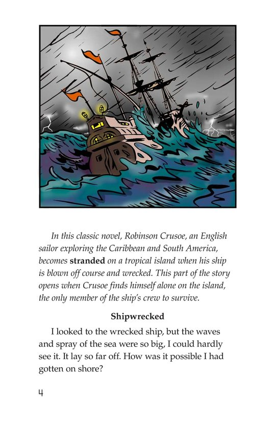 Book Preview For A Selection From Robinson Crusoe Page 4