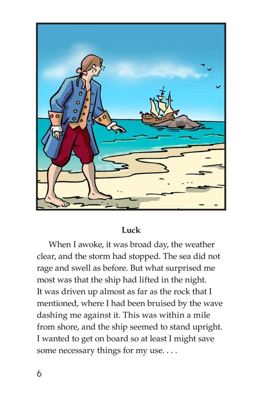 Book Preview For A Selection From Robinson Crusoe Page 6