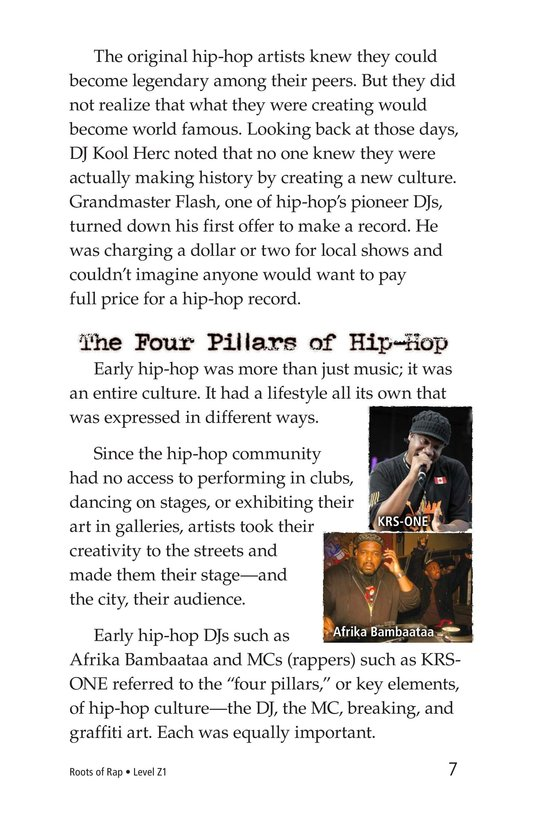 Book Preview For Roots of Rap Page 7
