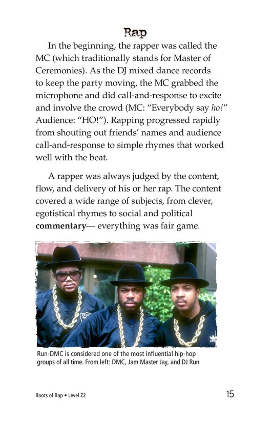 Book Preview For Roots of Rap Page 15