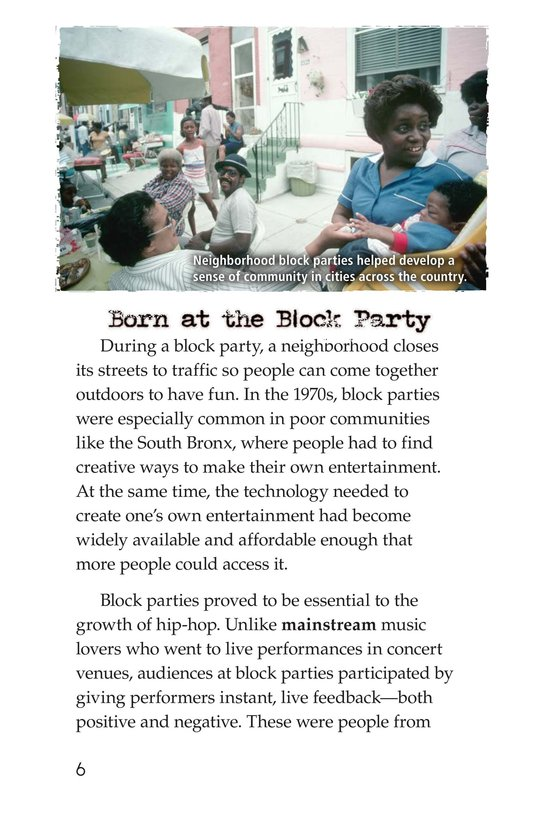 Book Preview For Roots of Rap Page 6