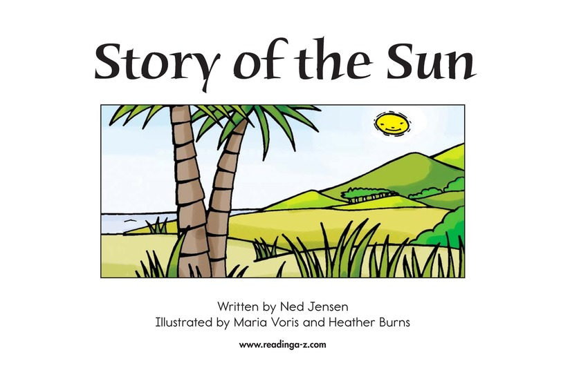 Book Preview For Story of the Sun Page 1