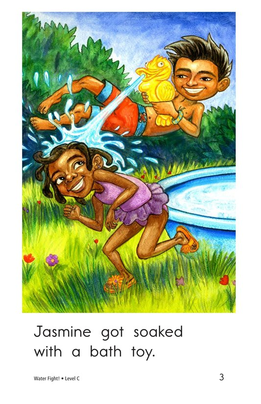Book Preview For Water Fight! Page 3