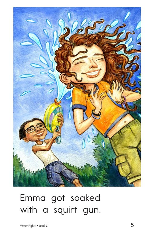 Book Preview For Water Fight! Page 5