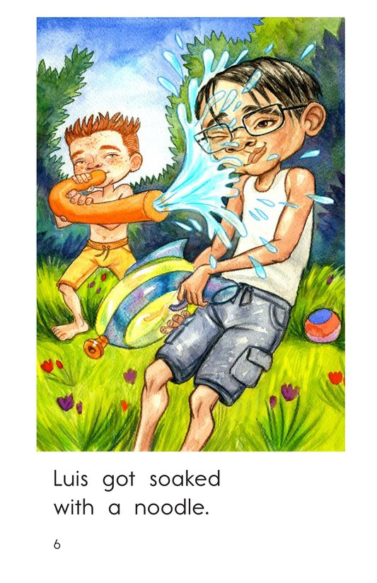 Book Preview For Water Fight! Page 6