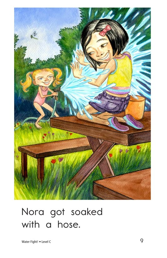 Book Preview For Water Fight! Page 9