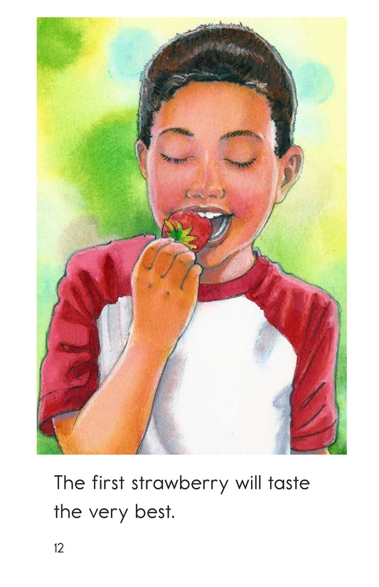 Book Preview For The First Strawberry Page 12