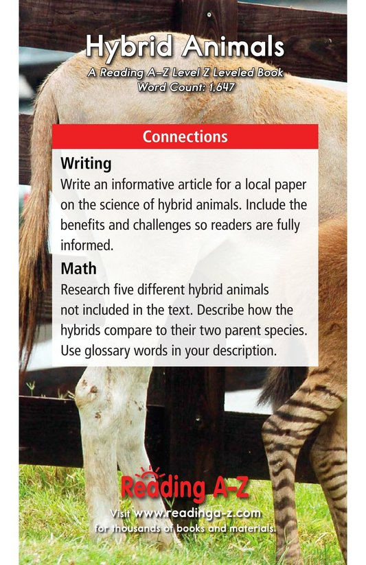 Book Preview For Hybrid Animals Page 17