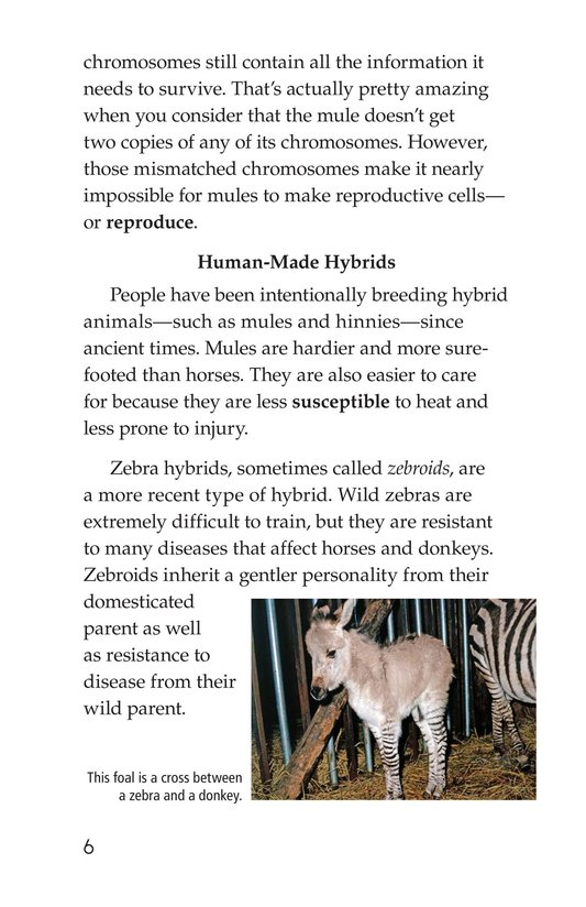 Book Preview For Hybrid Animals Page 6