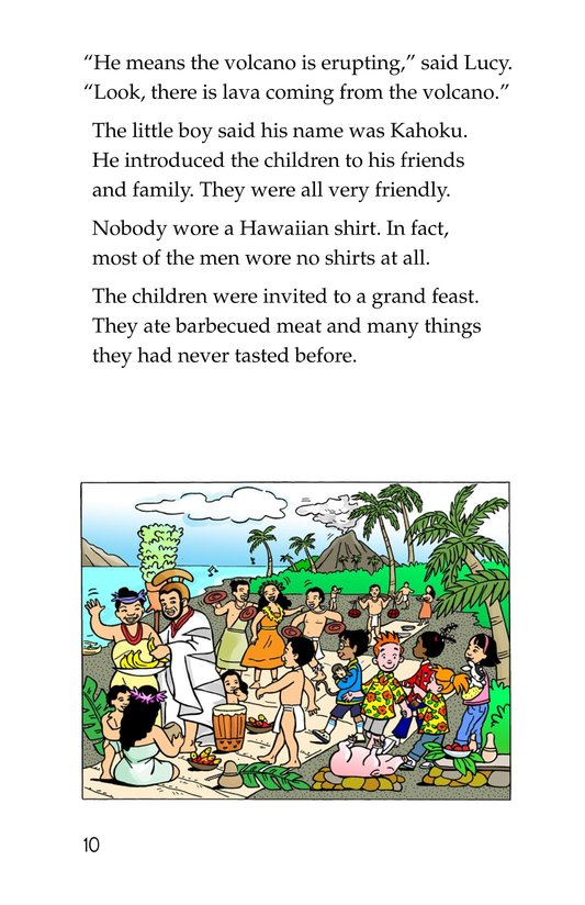 Book Preview For Tommy Goes To Hawaii Page 10
