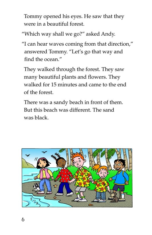 Book Preview For Tommy Goes To Hawaii Page 6