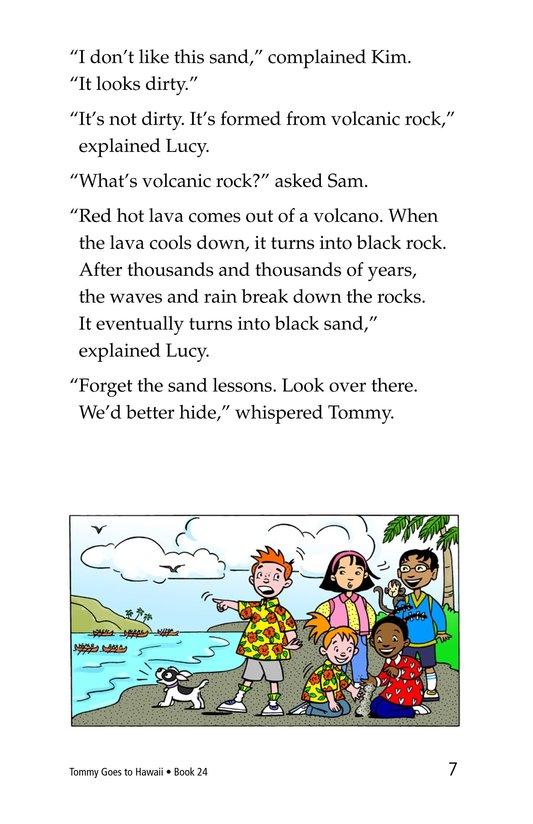 Book Preview For Tommy Goes To Hawaii Page 7