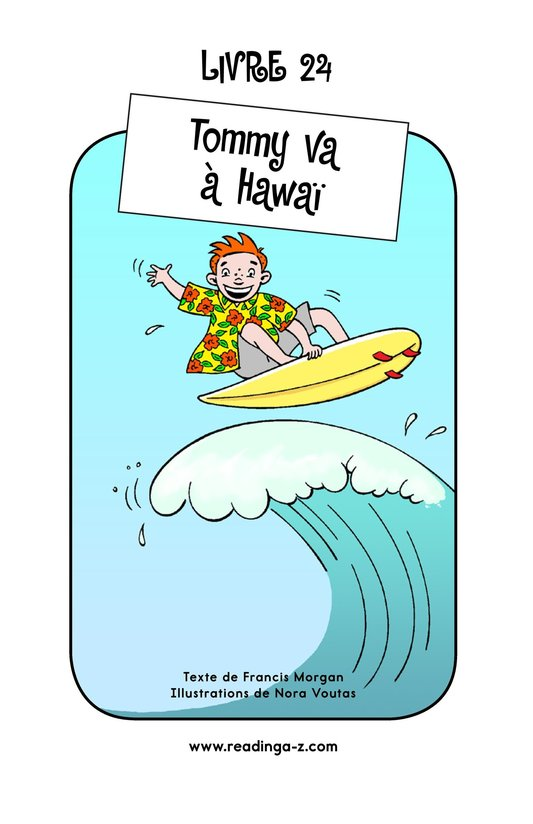 Book Preview For Tommy Goes To Hawaii Page 1