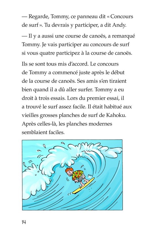 Book Preview For Tommy Goes To Hawaii Page 14
