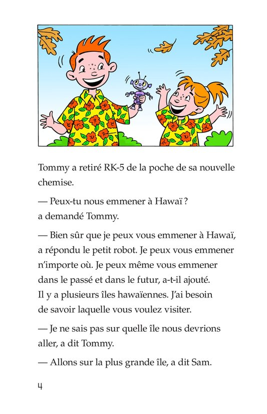 Book Preview For Tommy Goes To Hawaii Page 4
