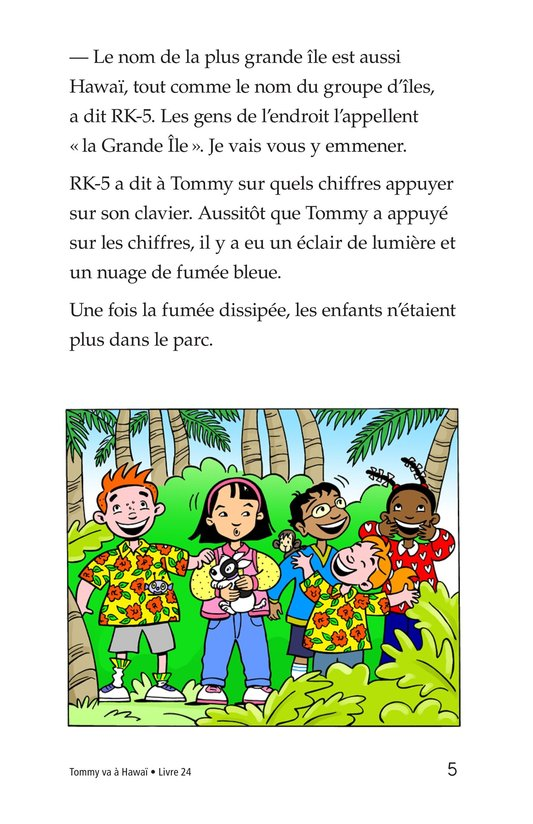 Book Preview For Tommy Goes To Hawaii Page 5