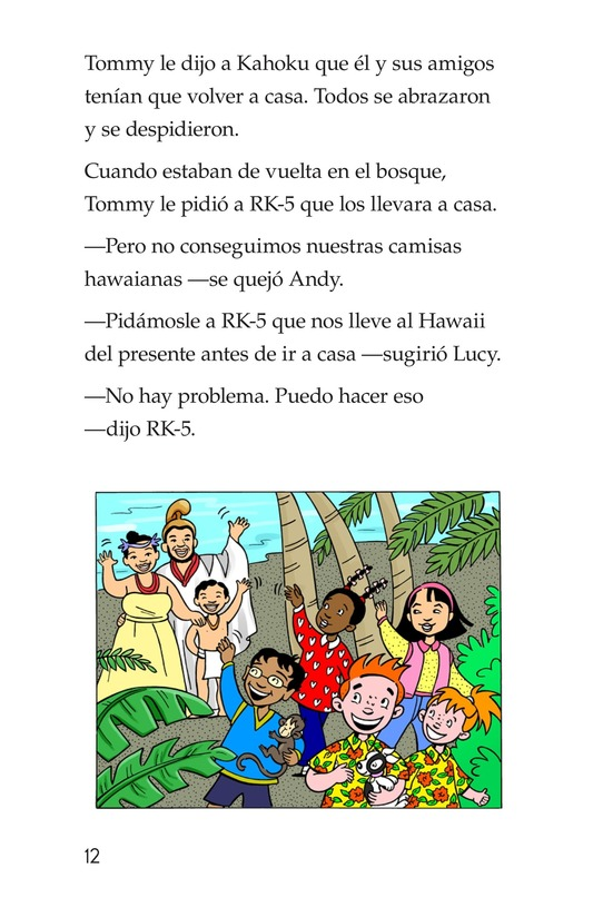Book Preview For Tommy Goes To Hawaii Page 12