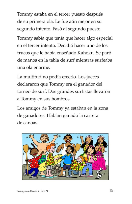 Book Preview For Tommy Goes To Hawaii Page 15