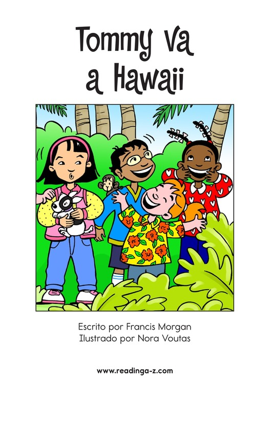 Book Preview For Tommy Goes To Hawaii Page 2