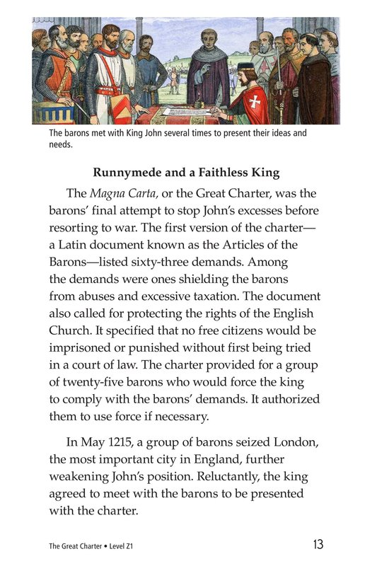 Book Preview For The Great Charter Page 13
