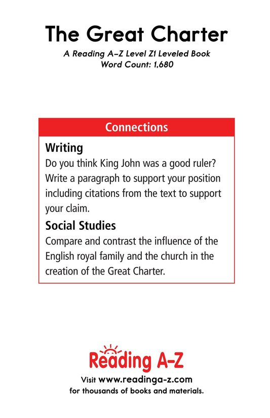 Book Preview For The Great Charter Page 21