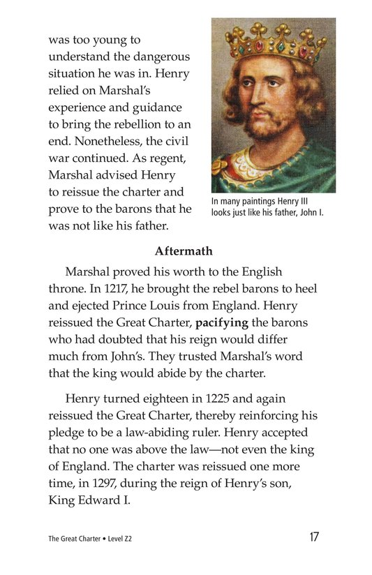 Book Preview For The Great Charter Page 17