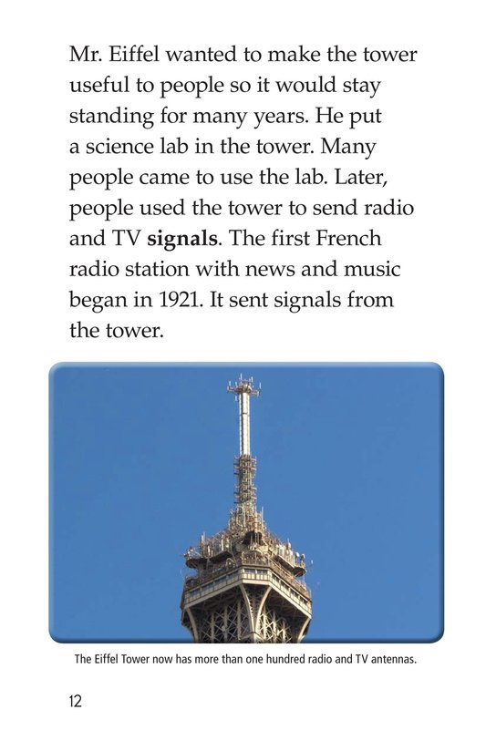Book Preview For Eiffel Tower Page 12