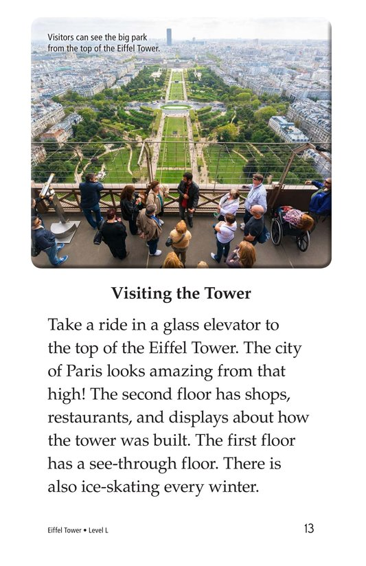 Book Preview For Eiffel Tower Page 13