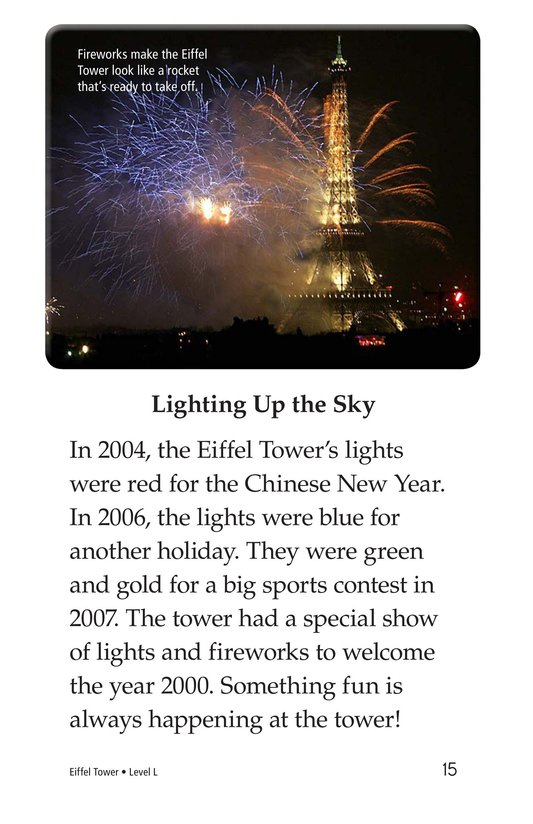 Book Preview For Eiffel Tower Page 15