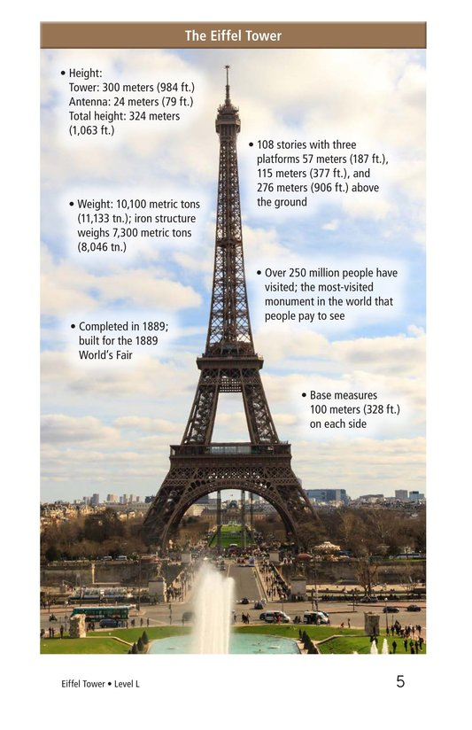 Book Preview For Eiffel Tower Page 5