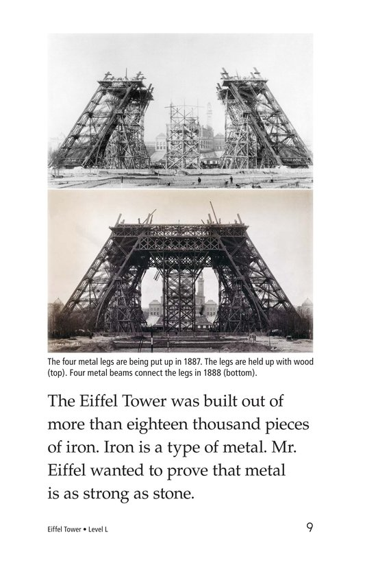 Book Preview For Eiffel Tower Page 9