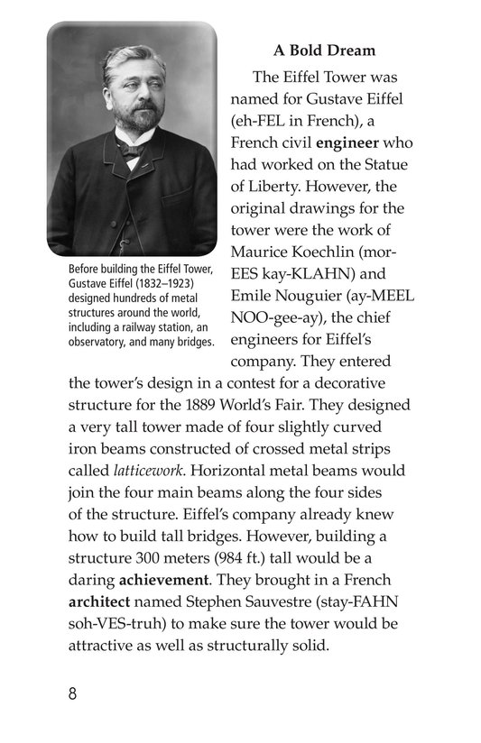 Book Preview For Eiffel Tower Page 8