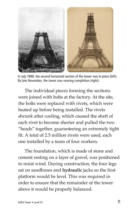 Book Preview For Eiffel Tower Page 11