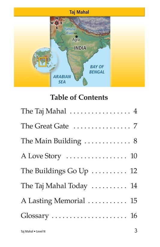 Book Preview For Taj Mahal Page 3