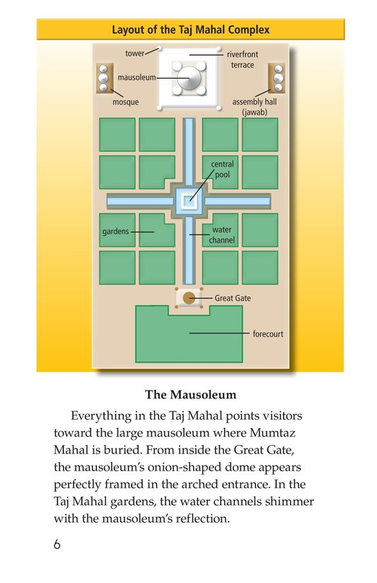 Book Preview For Taj Mahal Page 6