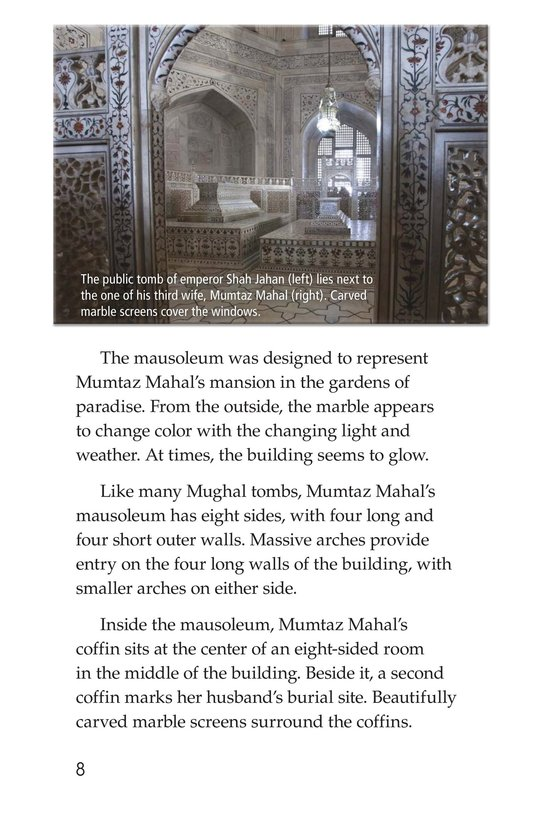 Book Preview For Taj Mahal Page 8