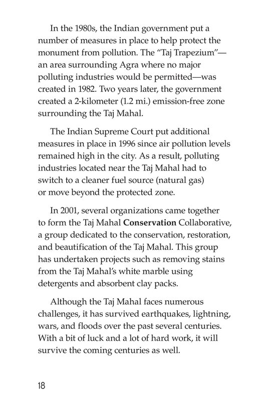 Book Preview For Taj Mahal Page 18