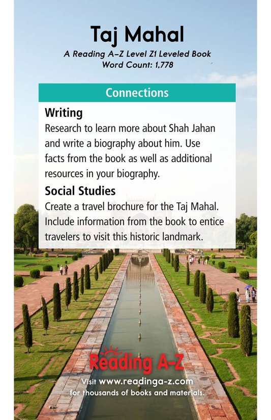 Book Preview For Taj Mahal Page 21