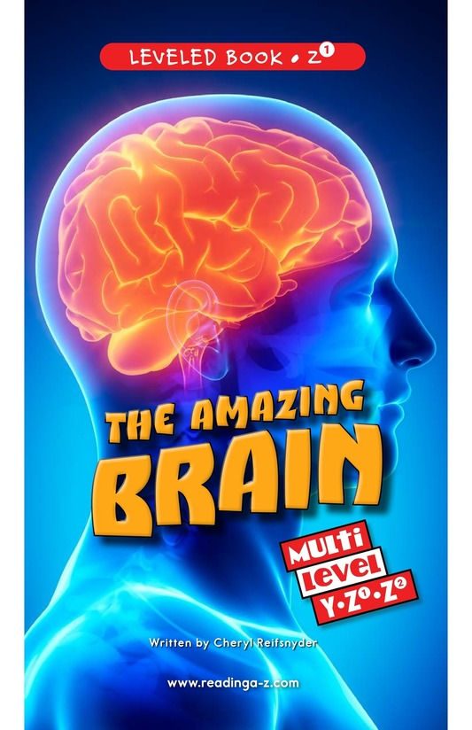 Book Preview For The Amazing Brain Page 0