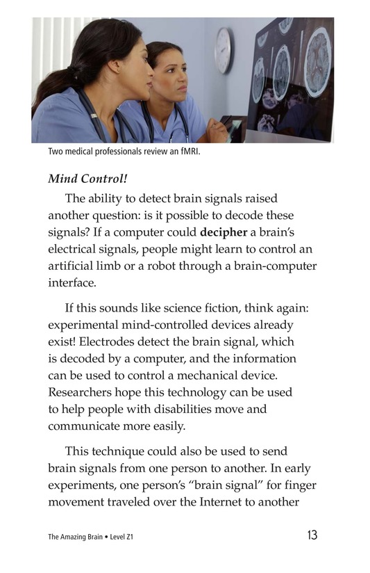 Book Preview For The Amazing Brain Page 13