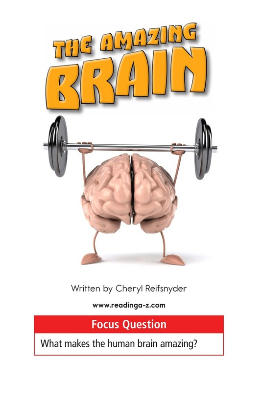 Book Preview For The Amazing Brain Page 1