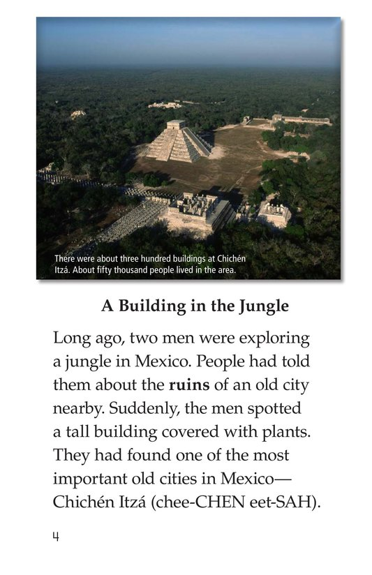 Book Preview For Chichén Itzá Page 4