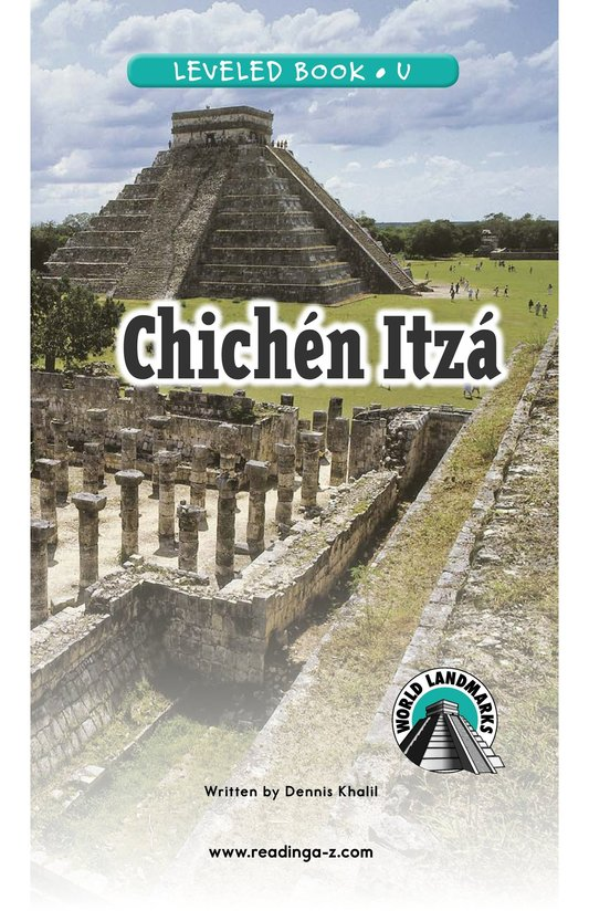 Book Preview For Chichén Itzá Page 0
