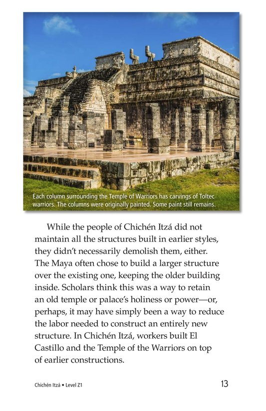 Book Preview For Chichén Itzá Page 13