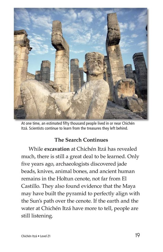 Book Preview For Chichén Itzá Page 19
