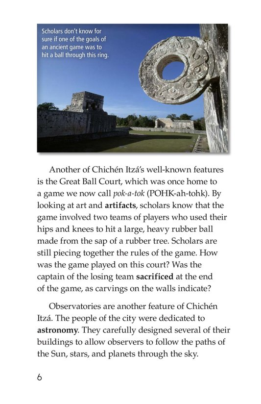 Book Preview For Chichén Itzá Page 6