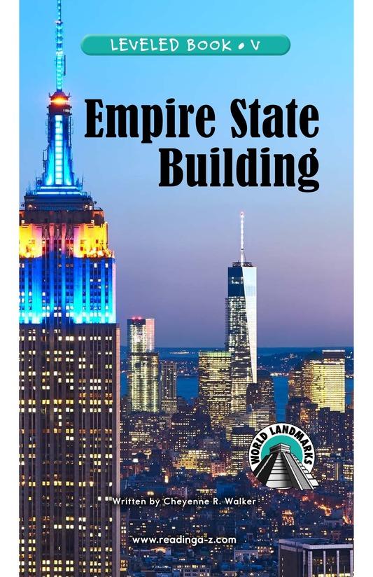 Book Preview For Empire State Building Page 0