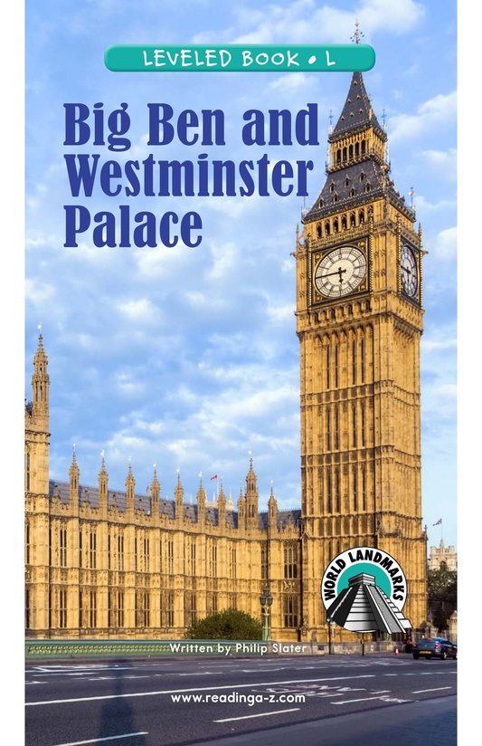 Book Preview For Big Ben and Westminster Palace Page 0
