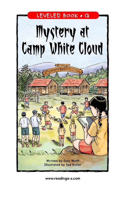 Book Preview For Mystery at Camp White Cloud Page 1