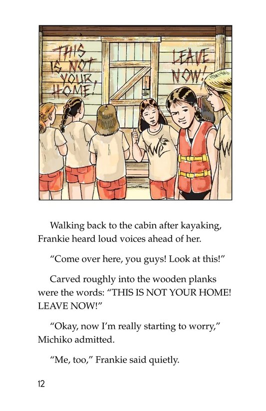Book Preview For Mystery at Camp White Cloud Page 12